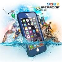 [라이프프루프] 방수케이스 액정 보호형 아이폰6 케이스 fre Blue 77-50360