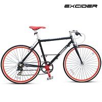 하이브리드자전거 코런7 [KORUN-7/27형/7단/700C/알루미늄차체/로드바이크/로드자전거/출퇴근자전거]
