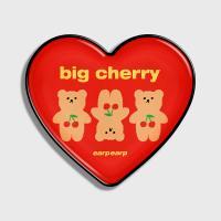 Three cherry big bear-red(hearttoktok)