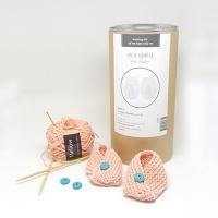 [멜로우] 니팅 키트 : 아기덧버선