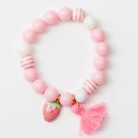 [시리얼] 팔찌 비즈킷-딸기