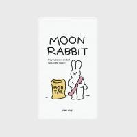 [어프어프] 보조배터리 Moon rabbit-white