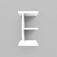 미니큐빅스 이니셜 벽선반-E