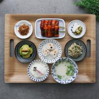 일본식기 혼밥식기세트 블루밍 식기세트
