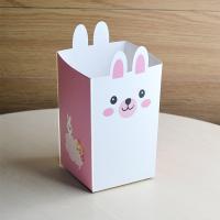 팝콘트레이세트(메모상자+손잡이비닐) 토끼