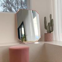 골드 팔각거울 벽거울 인테리어거울 600X800mm3색 택1