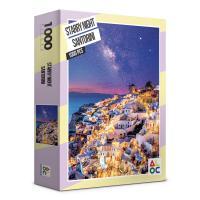 (알록퍼즐)1000피스 별밤의 산토리니 직소퍼즐 AL3015