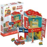[3D퍼즐마을][P813h] 화재 구조대 (Fire Rescue)