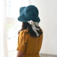 [코바늘 키트] 레이스포인트 성인 모자