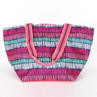 [ALL FOR COLOR]LARGE TOTE - TRIBAL STRIPE