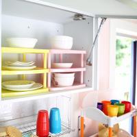 접시 선반 정리대 / 주방수납 정리용품