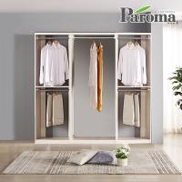 파로마 라라 드레스룸 일자형 3칸C형 (2000x400)