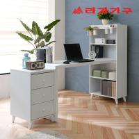 무노 H형 책상+서랍장 세트 1600
