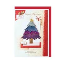 크리스마스카드/성탄절/트리/산타 크리스마스의 트리 (FS151s-5)