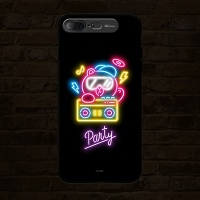 iPhone7 8 Plus LINE FRIENDS NEON PARTY