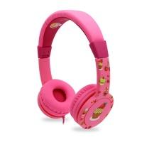 어린이 청력보호 핑크색 헤드폰