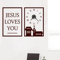 cm537-예수님의사랑은_그래픽시계(중형)