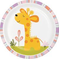 해피정글 7인치 기린접시 Happy Jungle Giraffe plate