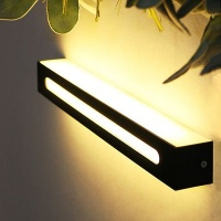 LED 요크 벽등(직사각) -블랙