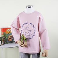 [다이노솔즈] 트리케라톱스 산책 드로잉 키즈 베이직 티셔츠 PK