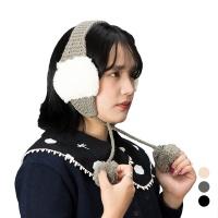 [1+1] 트래퍼햇 퐁퐁 귀도리/귀달이/털모자/방한모자