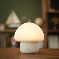 [emoi] Mushroom Lamp (White) 조명/무드등/취침등/인테리어/수유등/출산선물