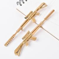 밀리터리 라이플 기관총 소음기 총 모양 펜
