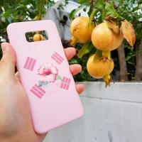 [터프케이스] 무궁화 태극기 핑크 스마트폰 케이스