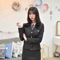 차콜 여자 자켓(고잔고)