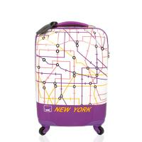 랜도르앤하와 LH017 20인치 퍼플 캐리어 여행가방