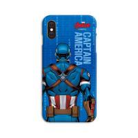 마블 비하인드 스마트폰 하드케이스 캡틴아메리카