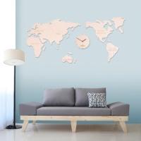 세계지도시계-빅(2colors)