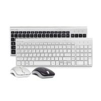 한성컴퓨터 GTune 펜타그래프 무선 키보드 마우스 세트 HKM200WL (실리콘키스킨 증정 / AVAGO 옵티컬센서/ 2.4GHz 무선기술 / 멀티미디어 키)