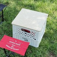 스노우아울 밀크 박스 테이블&체어(상판포함)