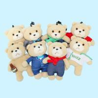 TED2 영화 속 곰인형 NEW 테드 가방고리 14CM 8종