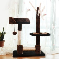 [봉봉펫닷컴] 고양이 4층 튼튼 캣타워 E