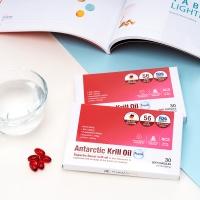 독일수입완제품 남극 크릴오일 30캡슐 인지질 56%