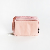 with BEAUTY POUCH_BABYPINK (뷰티파우치 M)