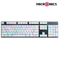 MANIC 미니 블루투스 유무선 기계식 키보드 MANIC K61 RGB 카일박스 스위치 (백축 / 적축)