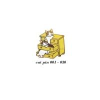 고양이의 하루 핀뱃지(no.001-030)