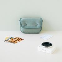 버튼 카메라 파우치 + 카드 파우치