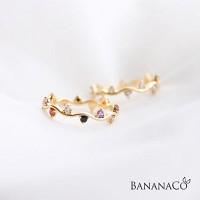 laurel crown ring