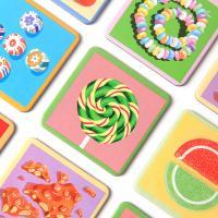 캔디 메모리게임 (3세 이상, 18쌍, 휴대용)