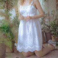 Angel 여름 나시 레이스 원피스잠옷