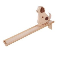 [WOODEN TOYS] NATURAL WALKING DOG