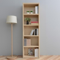 [히트디자인] 키큰 2자 5단 오픈 책장