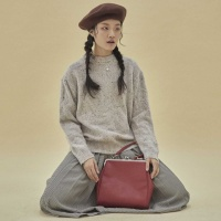 [펀프롬펀]Olsen frame big bag (red)
