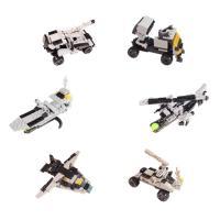 6000 미니블록 장난감 피규어 (군부대 6종)