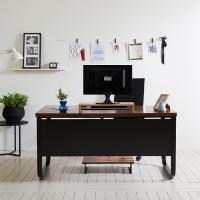 스틸뷰 1800 책상+의자세트  각진프레임