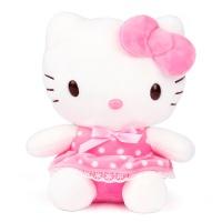 헬로키티 핑크도트 봉제인형-소형(20cm)